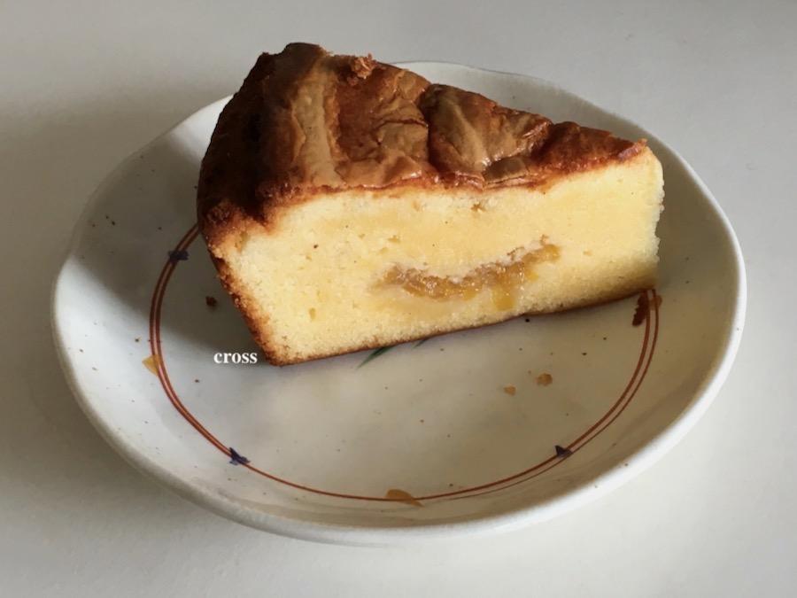バスクチーズレモン