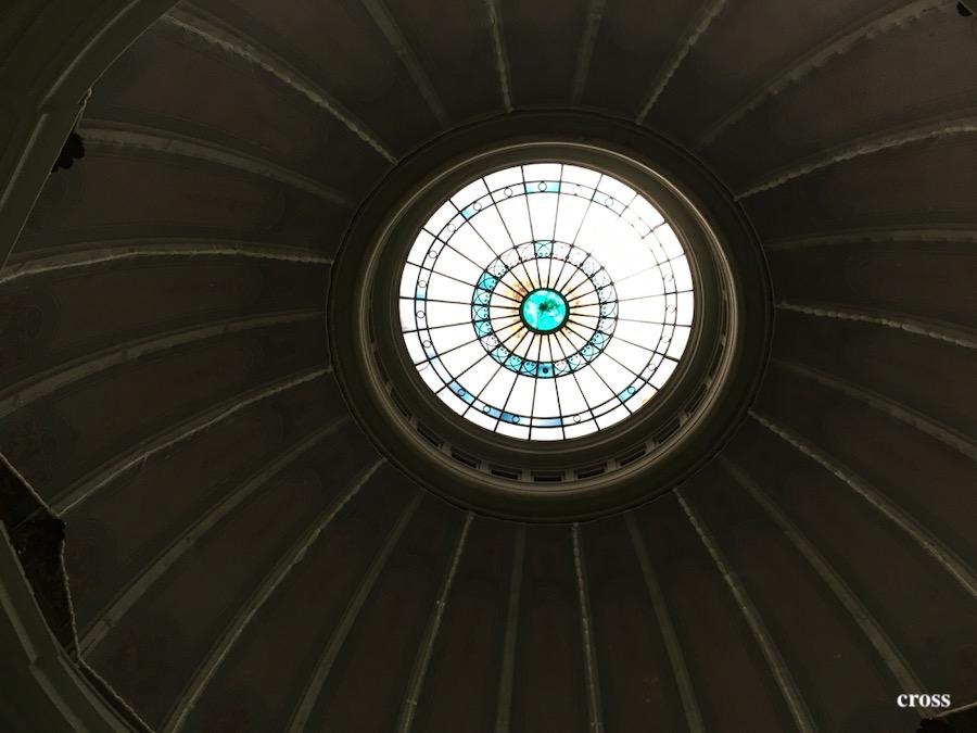 中之島図書館ドーム天井