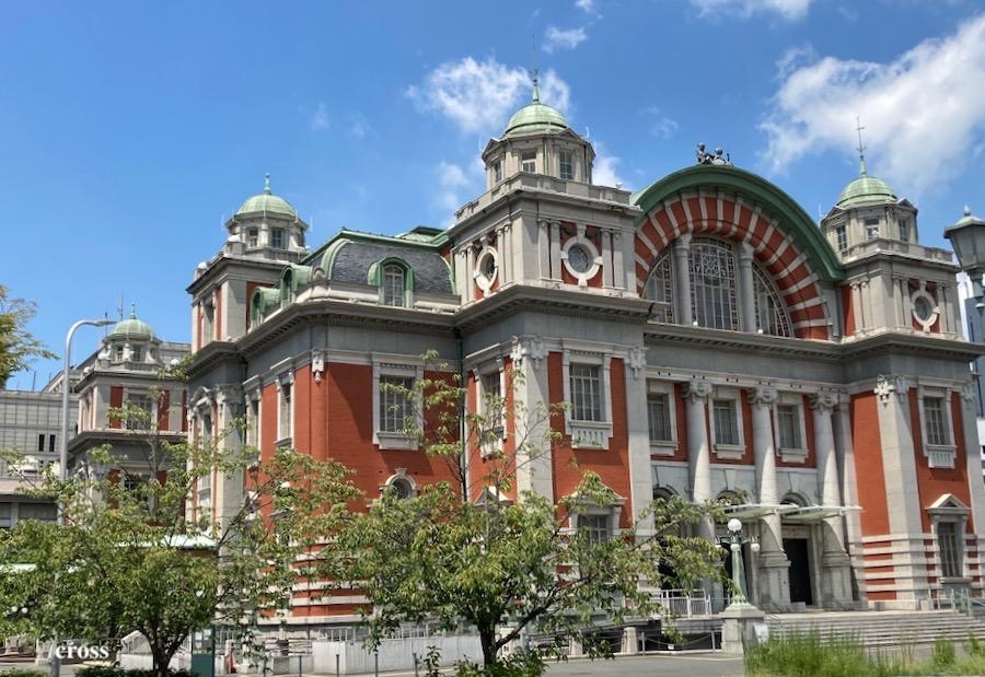 大阪市中央公会堂東正面