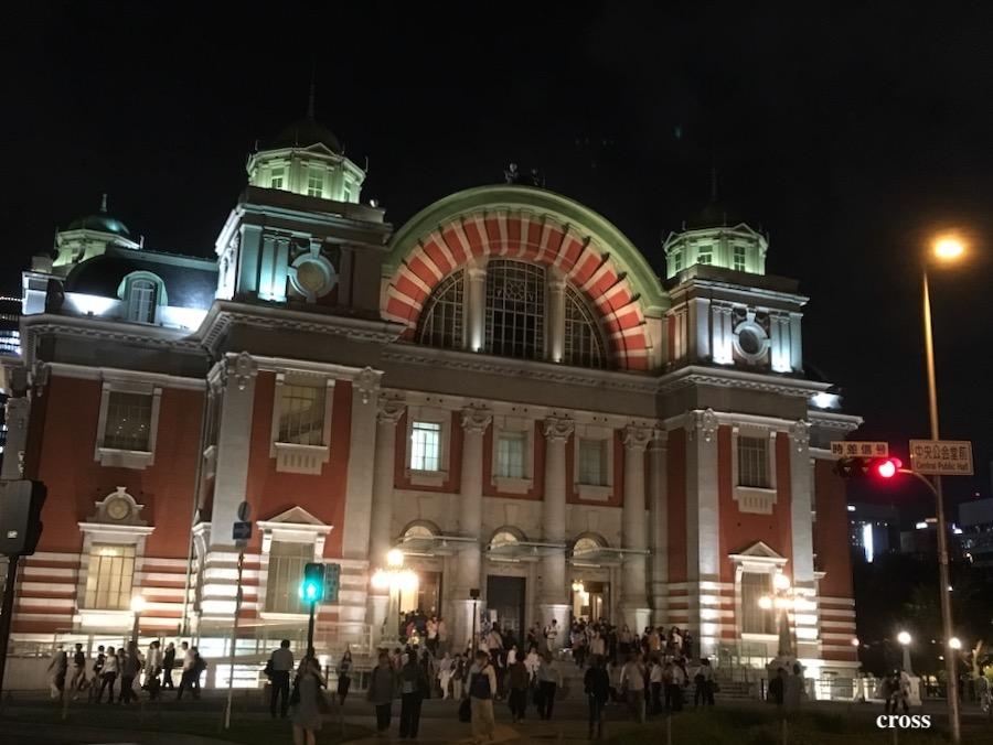 中央公会堂夜景