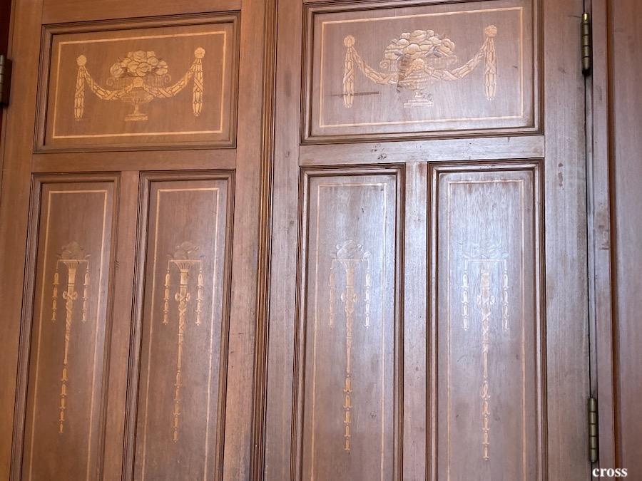 中央公会堂木製ドア