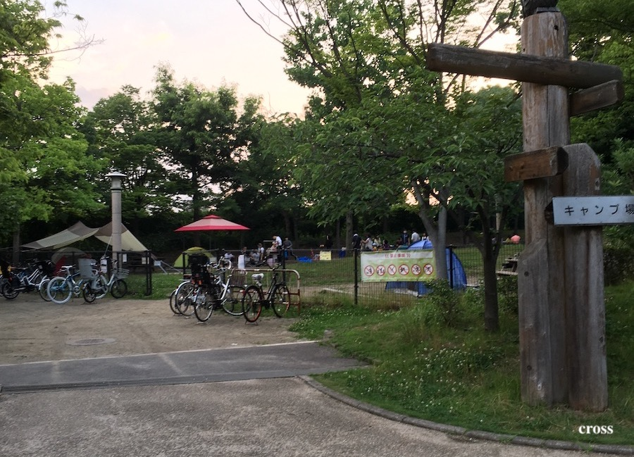 鶴見緑地キャンプ場