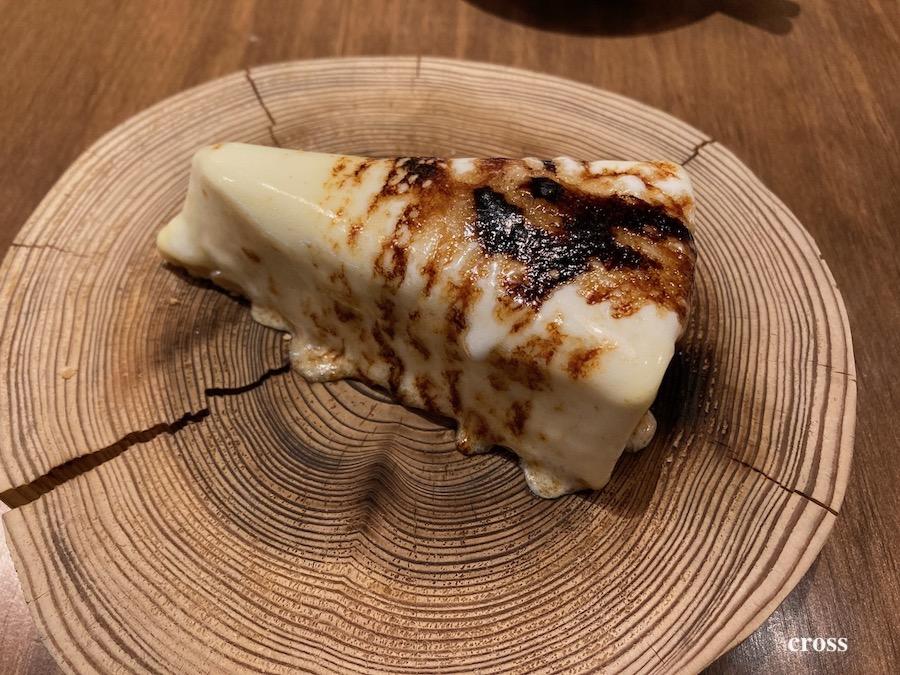 バンサン炙りチーズケーキ