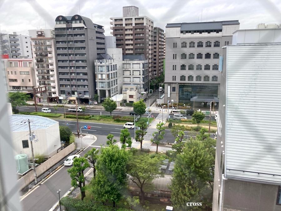 西長堀マンション景色